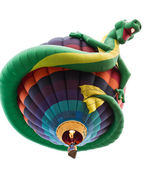 Fun dragon balloon — Stock Photo