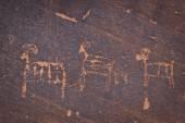 古代の岩絵 — ストック写真