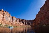 Rafting the colorado river  — Stock Photo