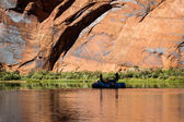 Rafting the colorado river — Stock Photo
