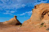 Sandstone desert — Foto de Stock