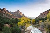 The Watchman at Zion — Stock Photo