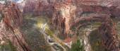 Autumn in Zion NP — Stock Photo
