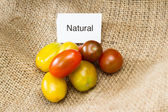 Natural tomatoes — Stock Photo