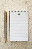 Tomar notas — Fotografia Stock