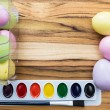 Painting easter eggs — Stock Photo #60791755