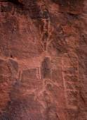 Petroglyphs, Valley of Fire — Stock Photo