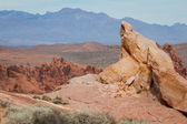 Valley of fire, Nevada — Stock Photo