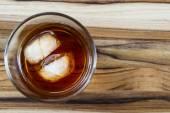 Bourbon with ice — Zdjęcie stockowe