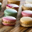 Tasty french macaroons — Stock Photo #63686879