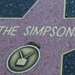 Постер, плакат: The Simpsons Hollywood Star