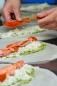 Food preparation — Stock Photo