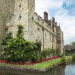 ������, ������: Hever castle and moat