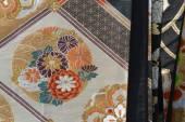 Japanese fabric — Stock Photo