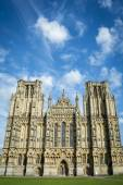 Catedral de wells — Fotografia Stock
