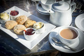 Cream tea — Stock Photo