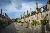 Vicars Close in Wells — Stock Photo