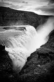 Gullfoss waterfall Iceland — Stock Photo