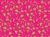Halloween Seamless Pattern Background : Vector Illustration — Stockvektor