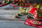 Chinese new year festival decorations — Stock Photo