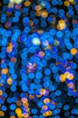 Colorful background with defocused lights — Stock Photo