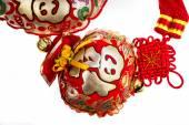 Chiński nowy rok ozdoba tło — Zdjęcie stockowe