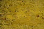 Decrepit yellow Old Wood Background — Stock Photo