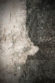 Grungy cement wall texture — Stock Photo