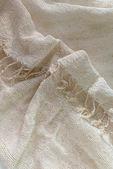 Elegant  linen fabric texture background — Stock Photo