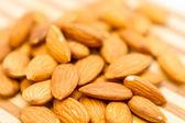 Raw Whole Almonds — Stock Photo