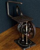 美国制造复古滚动锯 — 图库照片