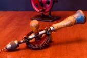 American Made Woodworker Hand Drill — Stock Photo