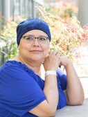 Female Breast Cancer Patient — Stock Photo