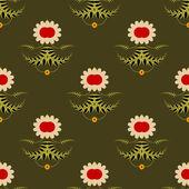 Simple flower background — Stockvektor