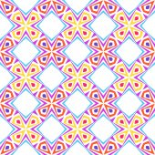 シンプルな明るい幾何学的装飾. — ストックベクタ