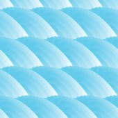 Seamless background with blue waves. — 图库矢量图片