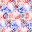 Watercolor colorful seamless pattern — Stock Photo #62360597