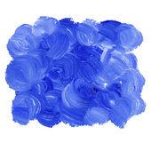Bright blue acrylic spot — Stock Vector