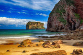 Beautiful landscape beach ocean in Asturias, Spain — Stock Photo