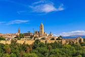 Rzymsko-katolicka katedra segowia w kastylii i leon, hiszpania — Zdjęcie stockowe