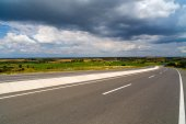 Carretera de montaña en la región de Anatolia de Turquía — Foto de Stock