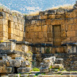 Ruins of the ancient city Hieropolis — Stock Photo #77907166