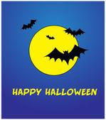 Happy halloween-vorlage — Stockvektor