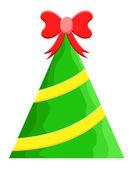 Gift Christmas Tree Vector — Stock Vector