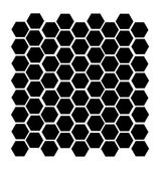 Včela hřeben — Stock vektor