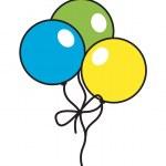Abstract Retro Colorful Balloons — Stock Vector #57145207