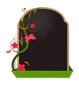 Decorative Flourish Banner Design — Stock Vector