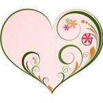Flourish Heart Design — Stock Vector #57601899