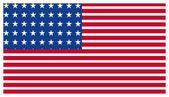 America Flag — Stock Vector