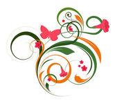 Flourish Decorative Elements — Vettoriale Stock